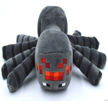Minecraft 17cm Spider Plush toys Cheapest Sale High Quality Game Cartoon Toys Cartoon Game Toys