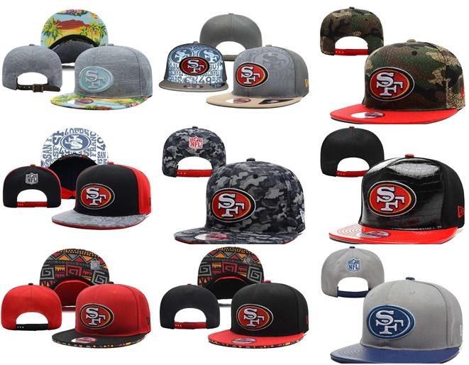 2016 NO-3 NEW arrive Free fast shipping Best Quality 21 Style San Francisco 49ers Snapbacks cap gorras bones hats(China (Mainland))