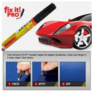 1pcs Hot Selling Fix It Pro Clear Car Scratch Repair Pen Simoniz Clear Coat Applicator(China (Mainland))