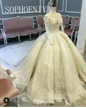 New Arrival Real Picture V Neck Long sleeve Wedding dresses Ball gown Online store Wedding gowns Vestido de noiva(China (Mainland))
