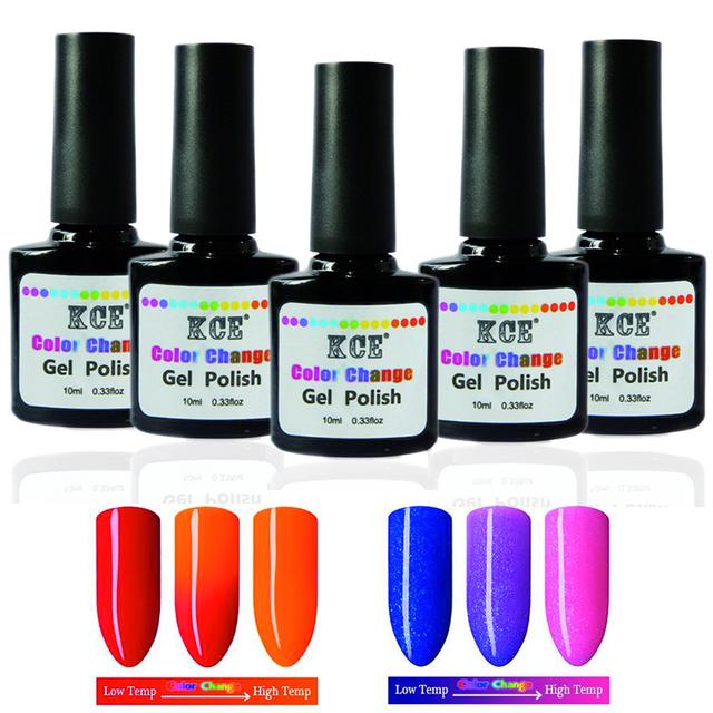 Новый продукт лак для ногтей изменение температуры уф-гель польский 7 г/шт. ногтей ...