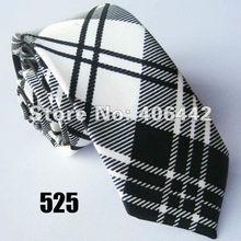 """2 """"Poly SLIM Dasi PERSEMPIT KURUS tie Dasi gravatas Mode polyester Bintang Checked Grid untuk mencocokkan kemeja-2 PCS(China)"""