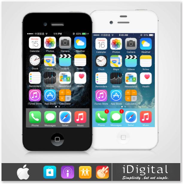 Оригинального Apple iPhone 4S разблокирована смарт-мобильный телефон IOS 8 16 ГБ / 32 ГБ 3.5