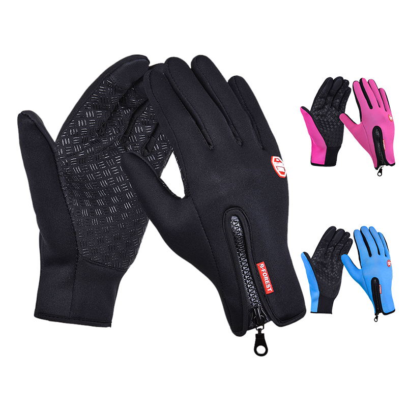 New Arrived Brand Women Men M L XL Ski Gloves Snowboard Gloves Motorcycle Riding Winter Touch Screen Snow Windstopper Glove(China (Mainland))