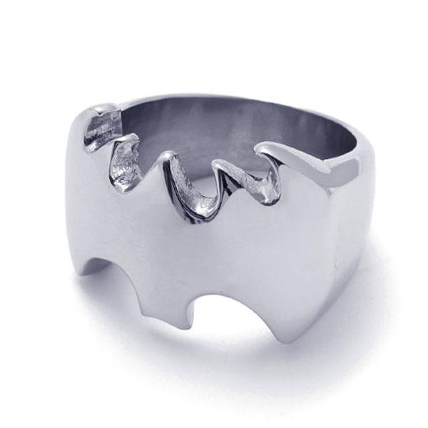 Fashion Men's Ring Batman Superhero