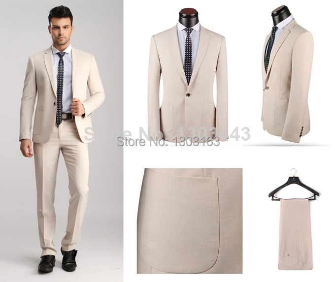 2014 New Branded Men Suits Casual Business Suits Designed Slim Fit Italian Style Tuxedo Wedding Suits Free Shipping 3 colorsОдежда и ак�е��уары<br><br><br>Aliexpress