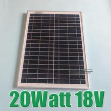 Polycrystalline silicon Solar Panel used for 12V photovoltaic power home system