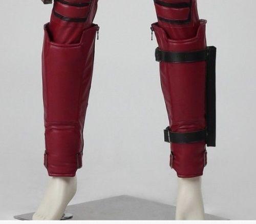 Marve Comics X-Men Deadpool Shin Guards Deadpool Leg Band Leg Warmer Adult Halloween Cosplay AccessoriesОдежда и ак�е��уары<br><br><br>Aliexpress