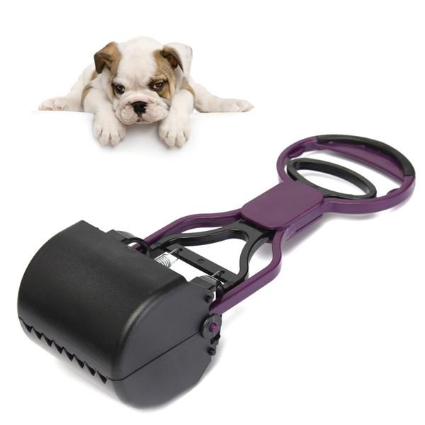 Гаджет  Hot sales Lazy Dog Pet Handheld Pooper Scooper Jaw Poop Scoop Clean Pick Up Animal Waste None Изготовление под заказ