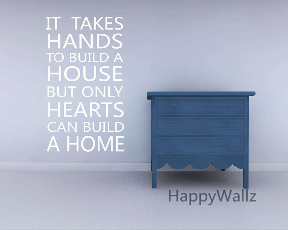 Hands Build A House Hearts Build A Home But Quotes Quotesgram
