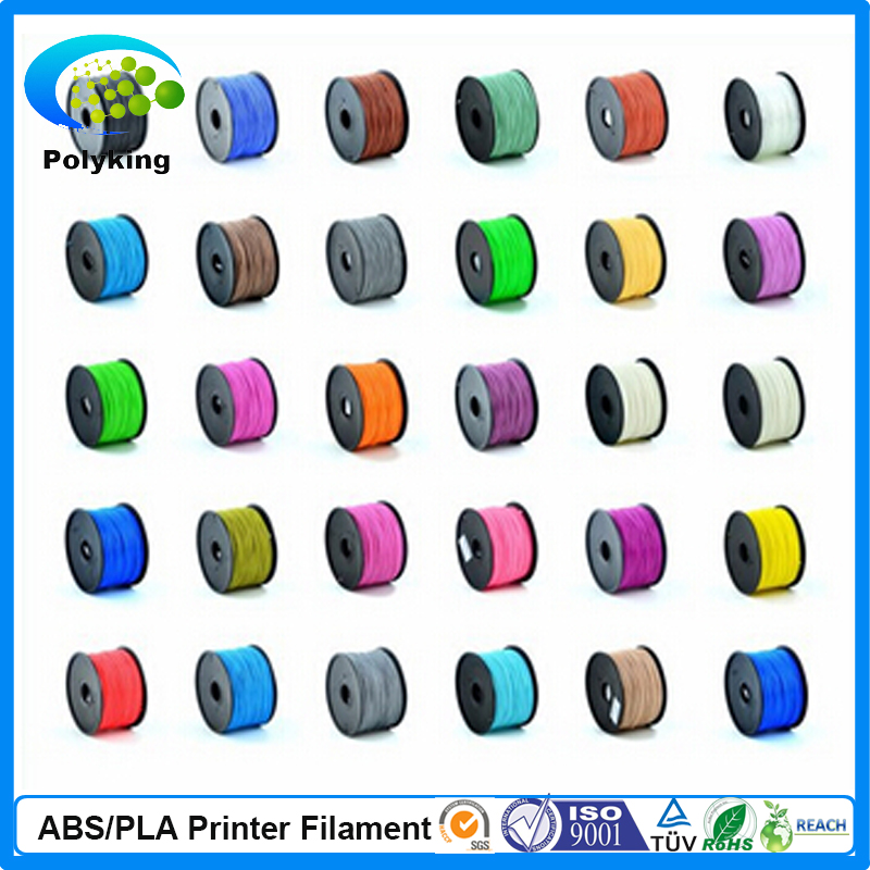 1 75 mm 3 00mm 3D Printer ABS PLA Filament with RoHS