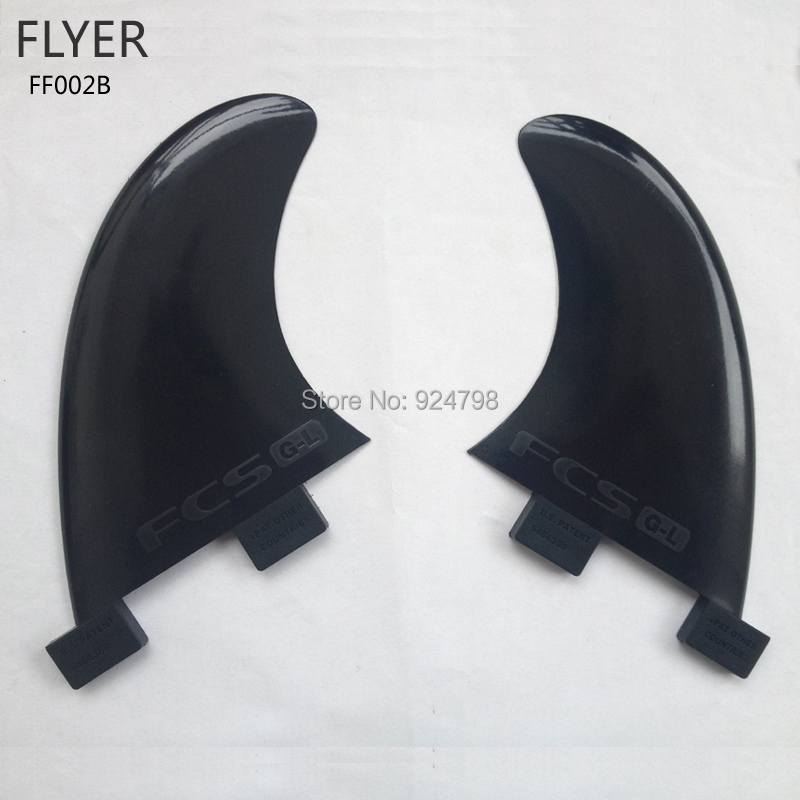 FF002B-FCS GL Surfboard fins set Black With FCS logo Superior nylon materials(China (Mainland))