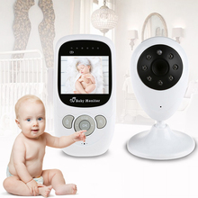 2016 Baby Security Camera Wireless Video Monitor with Night Vision Camera Two-way Talk 2.4 inch Baby Sleep Monitor with Camera(China (Mainland))