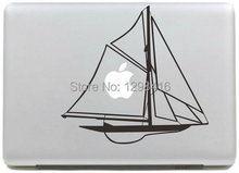 """New Super Cool boat ship 02 series Vinyl Decal Sticker Skin for Apple MacBook Pro Air Mac 11"""" 15"""" 13"""" inch Laptop Skins(China (Mainland))"""