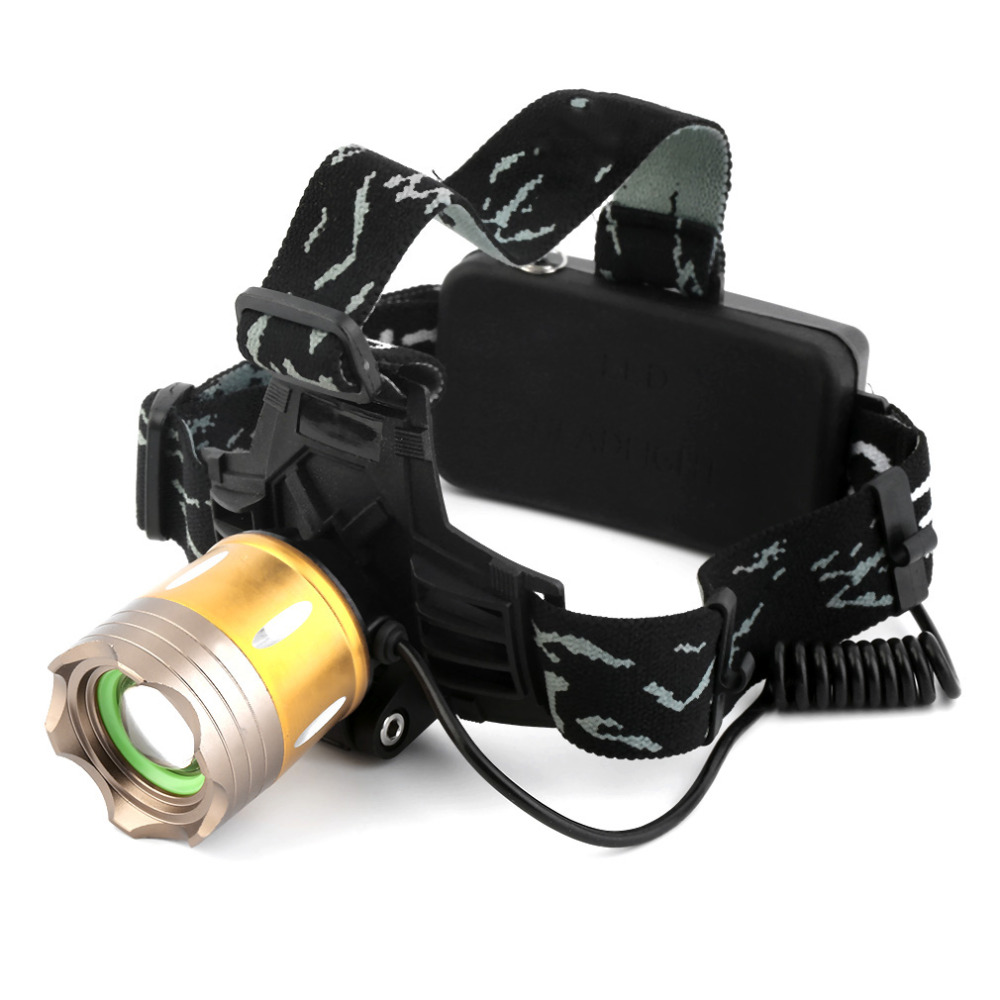 LED 10W 2000Lm XML T6 LED 18650 Headlamp Headlight Hunting Camping Light est Brand New(China (Mainland))
