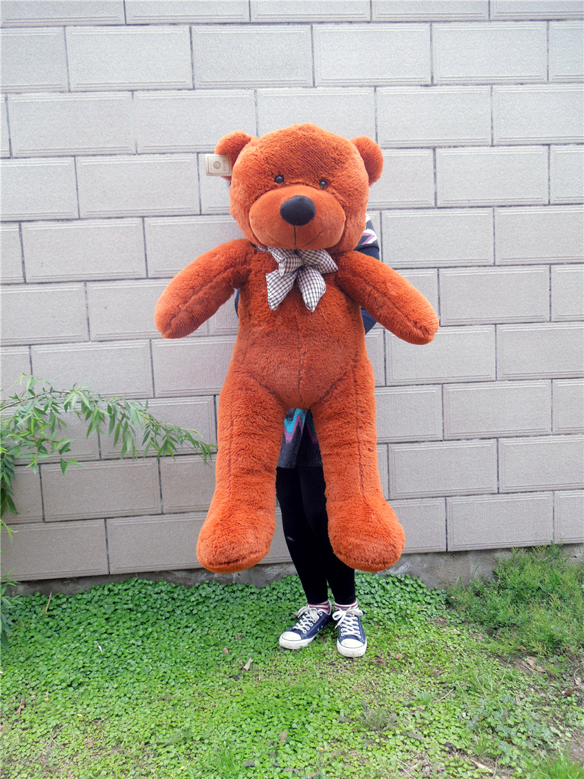 Giant Large Big White/Light Brown/Dark Brown/Pink Plush Teddy Bear 100CM Teddy Bear Plush Toy New(China (Mainland))