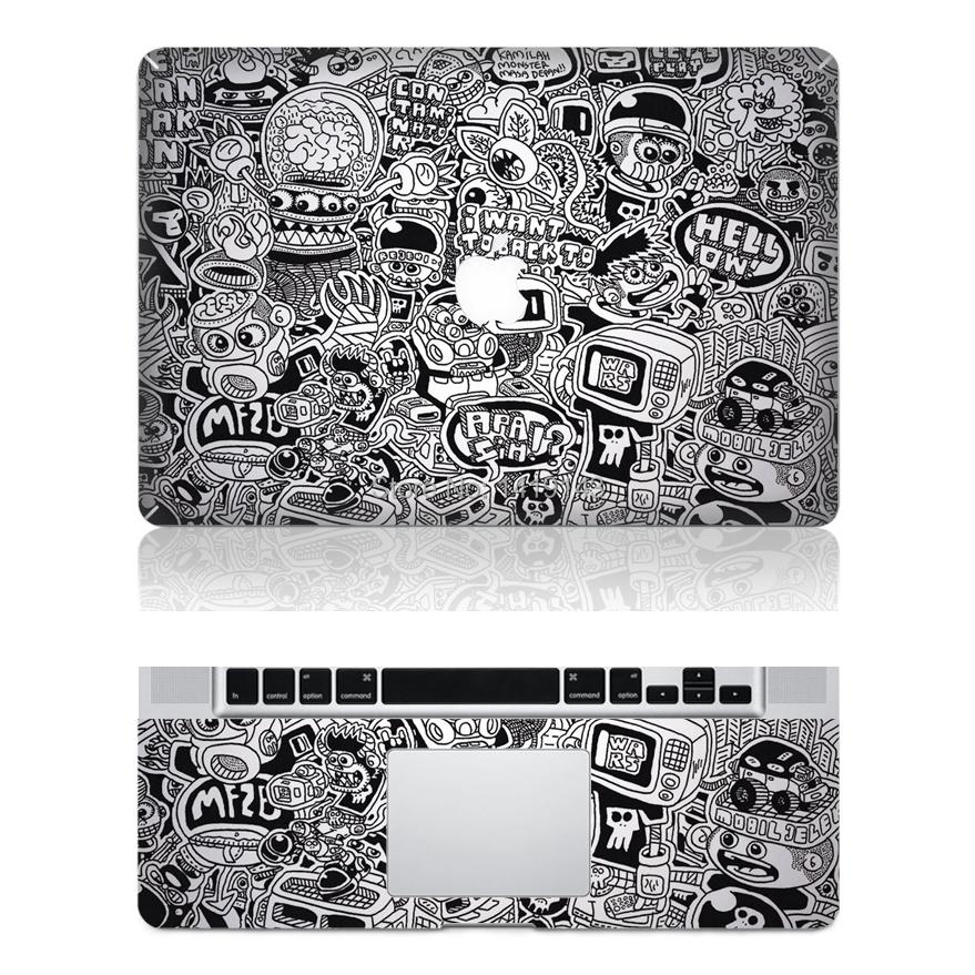 Graffiti Vinyl Skin Cover Protector Sticker For Apple
