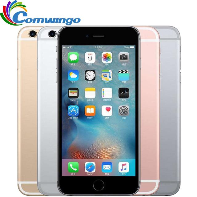 Разблокирована Оригинальный Apple iPhone 6 S IOS 9 Двухъядерный 2 ГБ ОПЕРАТИВНОЙ ПАМЯТИ 16/64/128 ГБ ROM 4.7 ''. МП Камера iphone6s LTE мобильный телефон используется