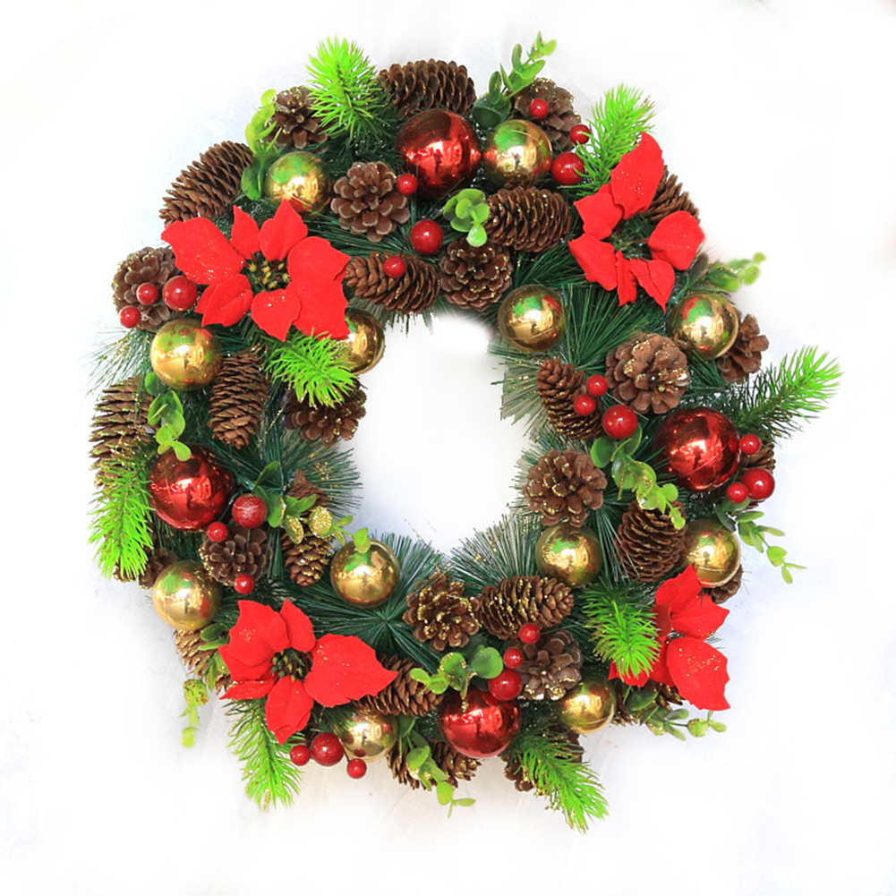 9X Christmas Pine Cones Baubles Xmas Tree Party Hanging Decorations Ornament Home Decor Wholesale Free(China (Mainland))