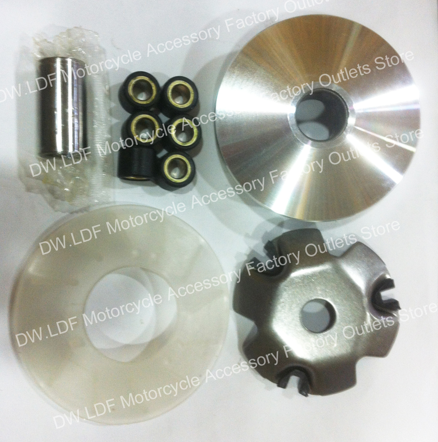 (New store growth activity) Variator Kit for GY6 50cc 139QMB 139QMA and Dio 50cc(China (Mainland))