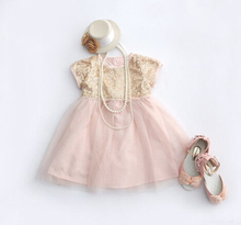 Baby Girl Dress  2016 Summer Style Girls Sequin Bow Party Dresses  1 year birthday dress,0-2Y(China (Mainland))