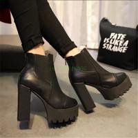 Осень и зима мода сексуальный платформы каблуках сверхтонкого удобную обувь конфеты цветные платформы