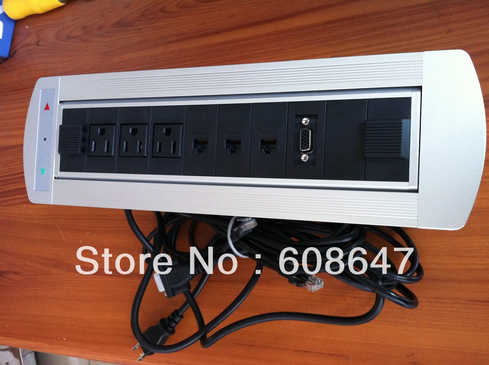 office furniture table power outlet with USA power(China (Mainland))