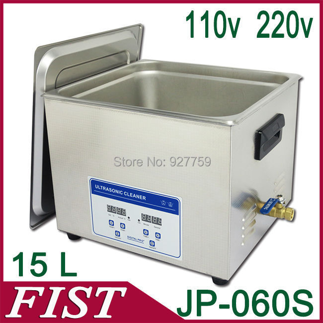 DHL FedEx Free Shipping! Ultrasonic cleaning machine JP-060S 15L 360W medical instrument Ultrasonic cleaner cleaning machine(China (Mainland))