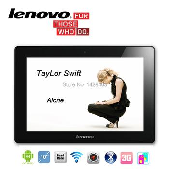 """10 """" дюймовый Lenovo 3 г Phablet планшет четырехъядерных процессоров телефон планшет 10 2 г оперативной памяти 32 г ROM WIFI 1024 X 768 GSM две сим-карты андроид 4.4 дети планшет пк"""