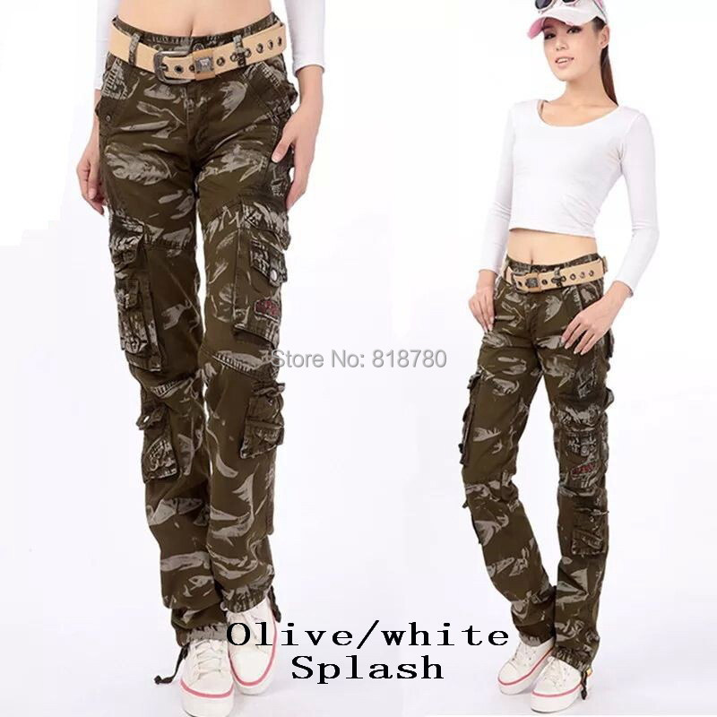 Luxury Fashion Women Cargo Pants Formal Work Black Lace Wide Leg Pants Summer