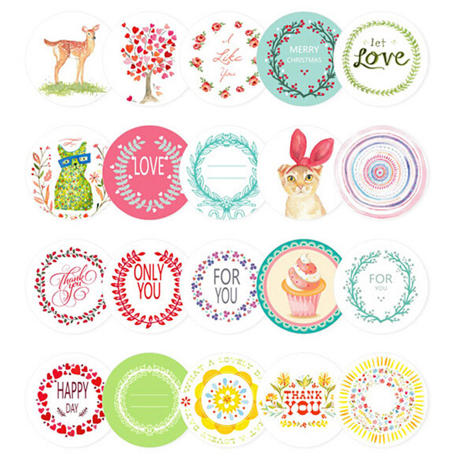 Funny Decoration Stickers (38 pcs/box)