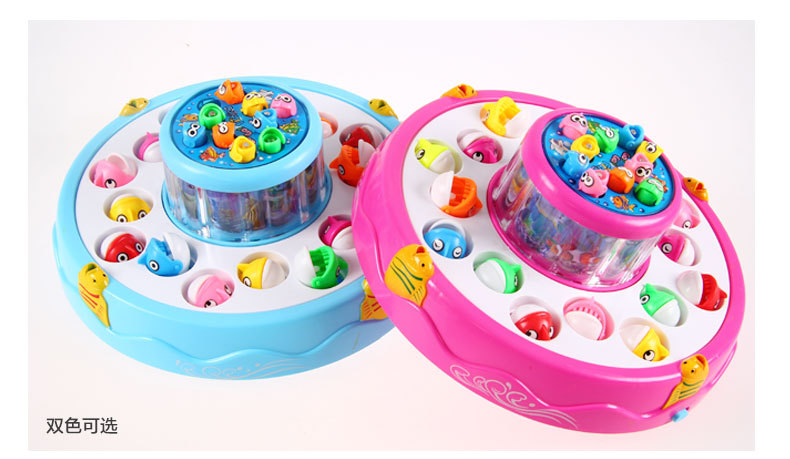 Electronic fishing toys battery operate fishing toys with music childrens day gifts for kids free shipping<br><br>Aliexpress