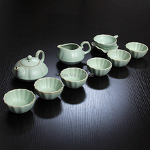 ruyao tea set ceramic teacup set chinese kung fu teapot