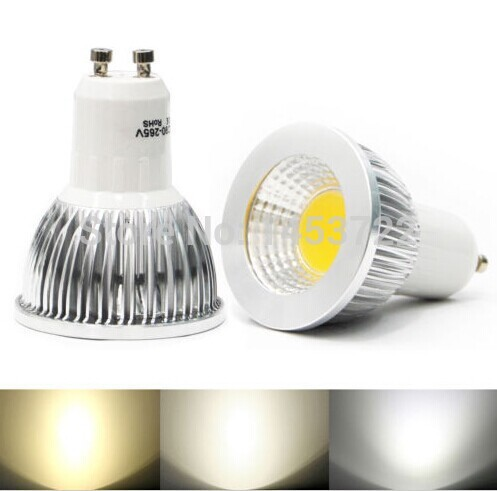 GU10 led light COB 6w 9w 12w 85-265v  spotlight corn bulb Warm White/Cool White  led lamp  ZM00610(China (Mainland))