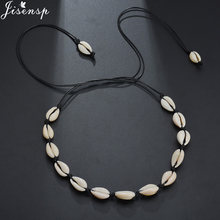 Jisensp Fashion Bohemian Beach Seashell Bead Rope Chain Bracelet Jewelry for Woman Girls Handmade Shell Bracelet Party Gifts(China)