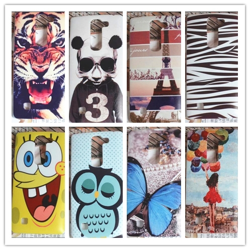 10 Patterns Colored Drawing Painting Plastic Hard Case Cover skin bag for LG Magna C90 H520N H502F H500F(China (Mainland))