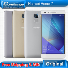 Original Huawei Honor 7 Octa Core Android 5.0 3GB RAM 16GB / 64GB ROM 20MP 5.2″ FDD-LTE 1920*1080 Dual Sim honor7 mobile phone