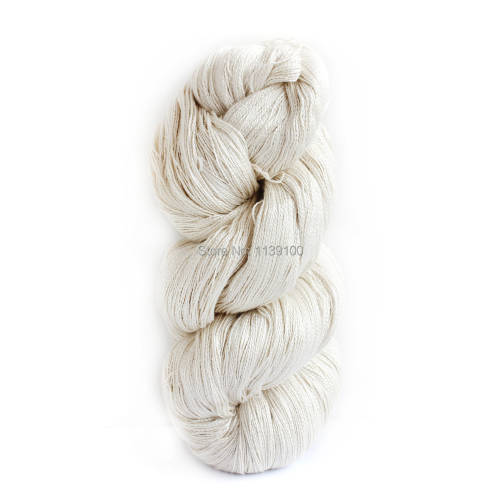 Hand Knitting Yarns : Aliexpress buy sks lot pure silk yarn undyed