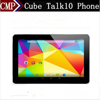 DHL Fast Delivery Cube Talk10 U31GT Cell Phone Quad Core Android 4.4 10.1 Inch IPS 1280X800 1GB RAM 16GB ROM 3G Tablet Phone(China (Mainland))