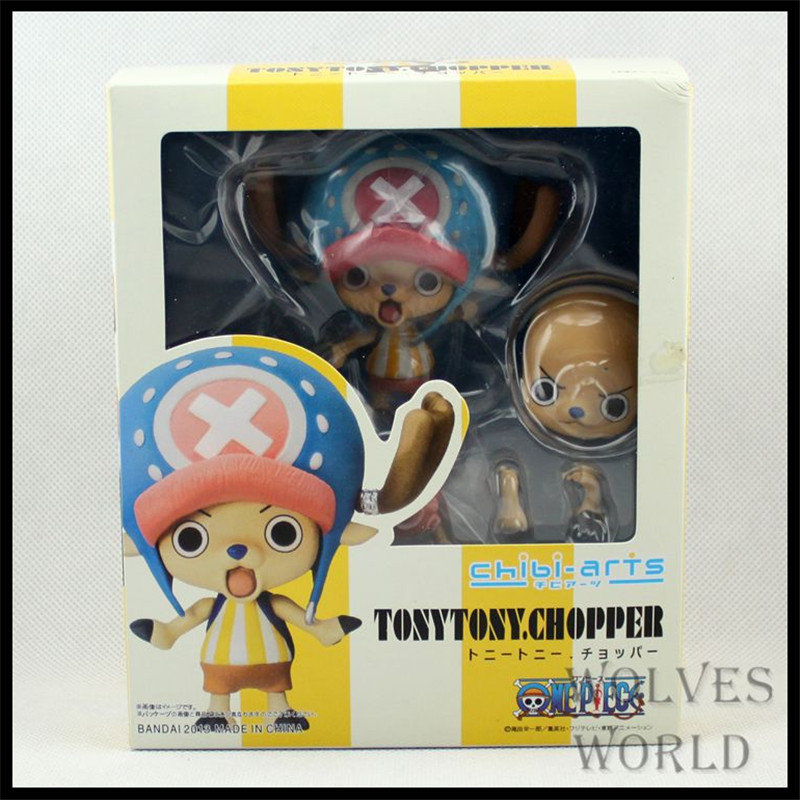 Japan One Piece New World Anime Figuarts Zero Tony Tony Chopper Action Figure PVC Boxed Model Swordsman Limited Edition 0124(China (Mainland))