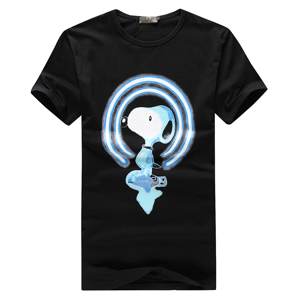 HOT 11 styles better quality nice brand Iceberg T shirts men O-neck fashion vogue tops more size more styles white black greyОдежда и ак�е��уары<br><br><br>Aliexpress