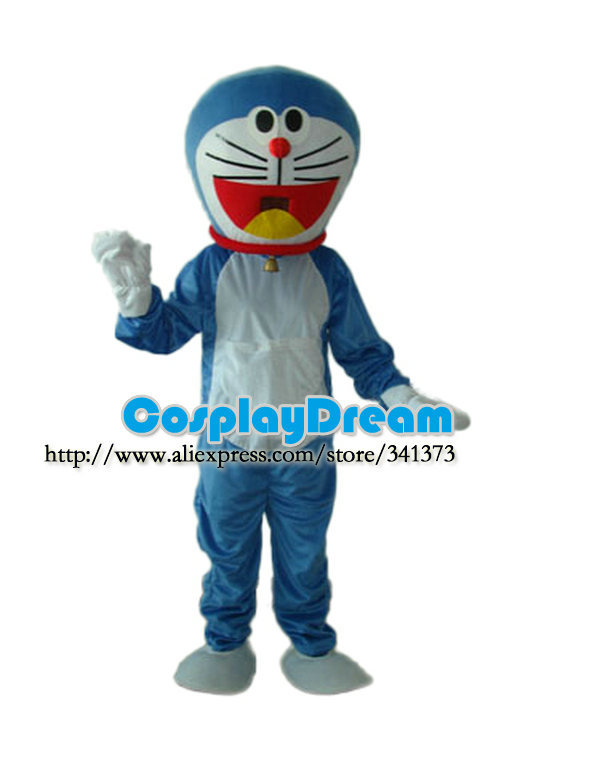 advertising mascot BLUE DORAEMON MASCOT COSTUME Animal customized carnival costumes - CosplayDream Store store