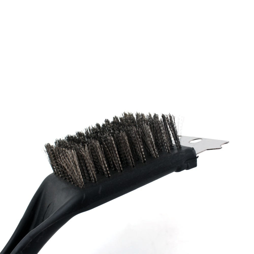 1PCS Summer Stainless Steel BBQ Cleaning Brush