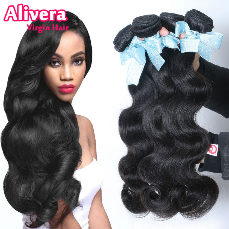 Brazilian Body Wave 7A Unprocessed Virgin Hair Wavy,Rosa Products Cheap Human Weave Bundles SALE - Alivera Official Store store