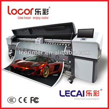 lecai ecosolvent inkjet high speed large format  printer  for outdoor advertisement(China (Mainland))