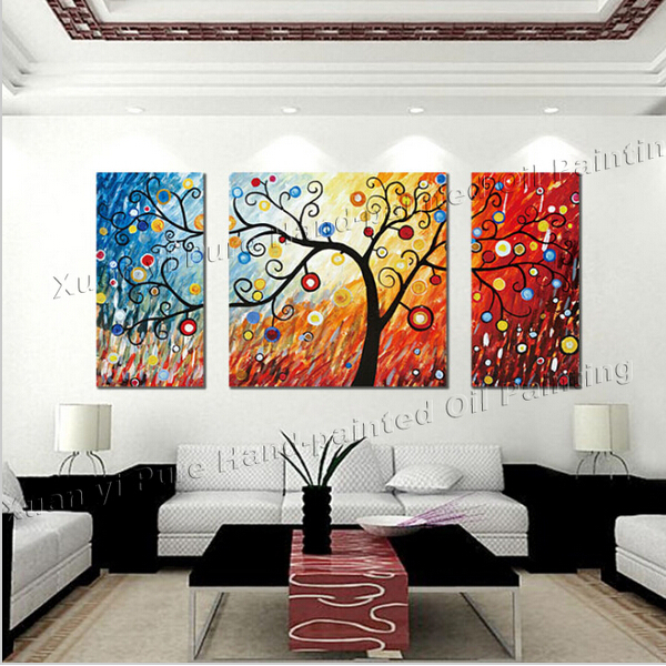 3 piece canvas wall art large modern abstract wall panel for Buy canvas wall art