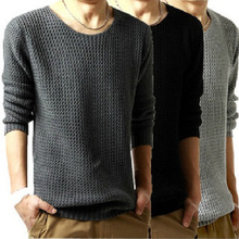 New Men's Brand o neck Long Sleeve Cashmere sweaters Knitwear fashion designer,polo pullovers,Size M-XXL 23(China (Mainland))
