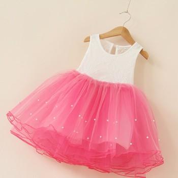 Платья для девочки с сеткой