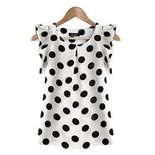 Fashion Girl Women Casual Chiffon Tshirt Short Sleeve Shirt T-shirt Summer Tops(China (Mainland))