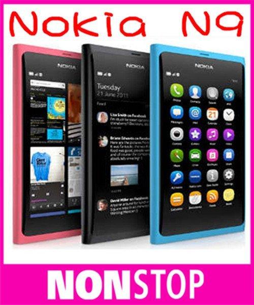 N9 Original Nokia N9 Nokia N9-00 Lankku,A-GPS, WIFI,3G, GSM,8 MP Camera, 16GB Internal Unlocked Mobile Phone